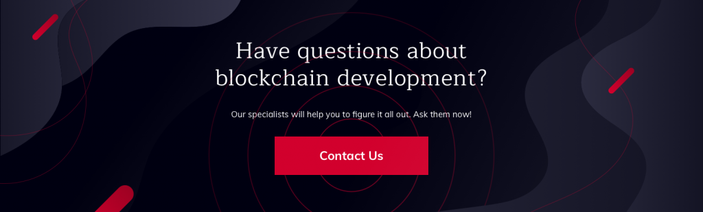 ask us about blockchain