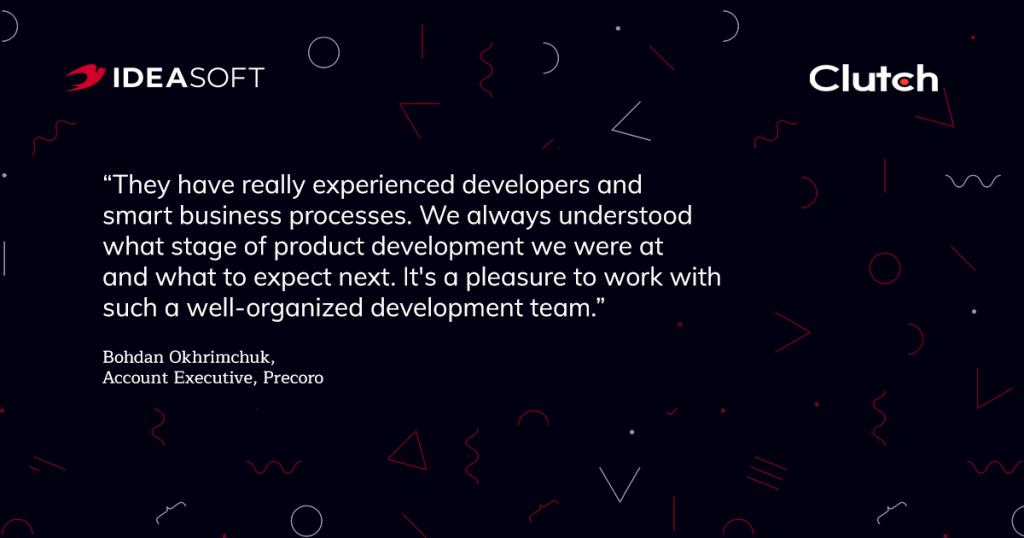 Clutch review IdeaSoft