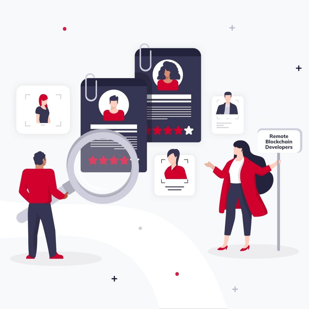 How to hire blockchain developers preview