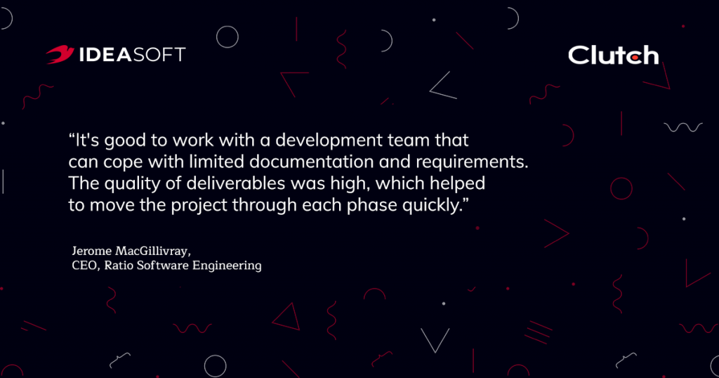Clutch review IdeaSoft (2)