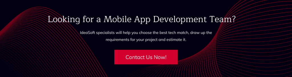 Contact us for mobile development