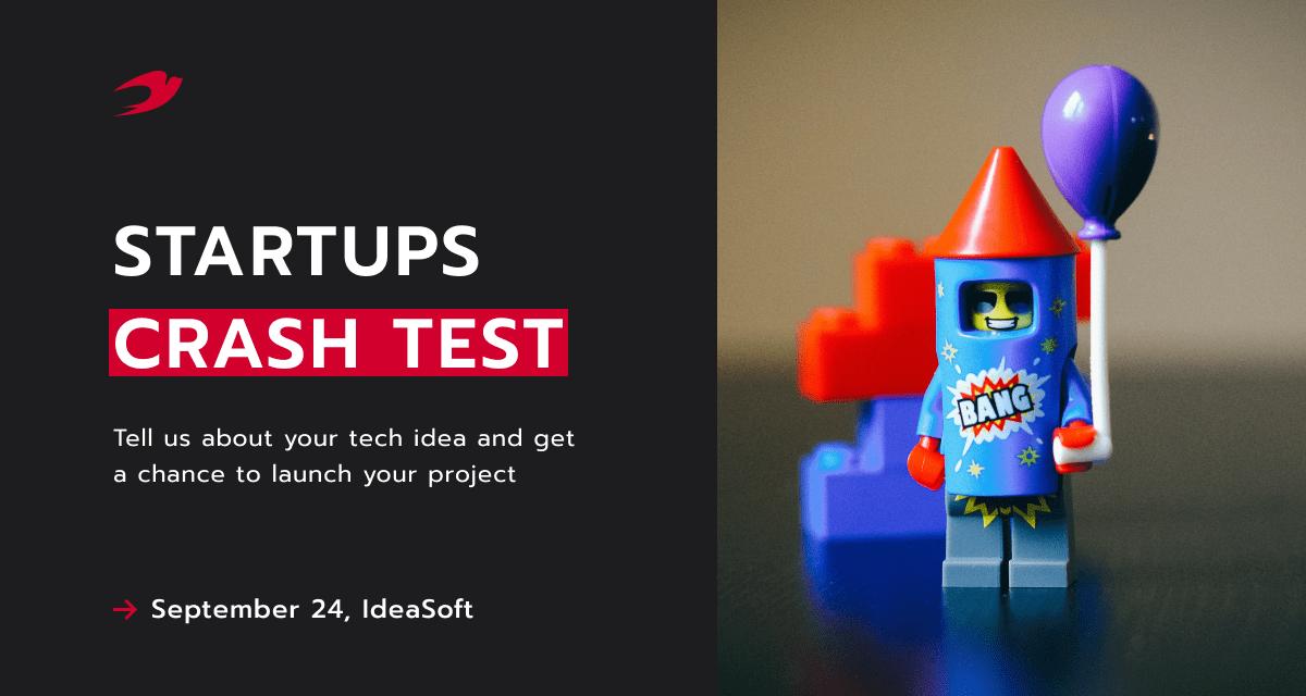 startup crash test event